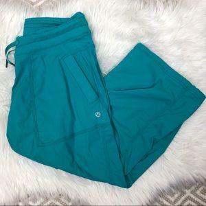 Lululemon Blue Studio Crop Pant Size 6